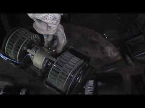 Volvo VNL 780. Ремонт. 6 Моторчик печки