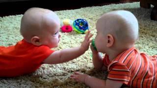 getlinkyoutube.com-Twins fighting over paciifer