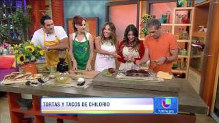 getlinkyoutube.com-HD: Maite Perroni [@MaiteOficial] y Elenco Cocinan