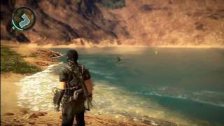 getlinkyoutube.com-Just Cause 2 Easter Eggs - Whale and Shark
