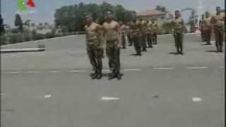 getlinkyoutube.com-استعراض الكوكسول بالجيش الجزائري .. Algerian kuk sool show