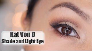 getlinkyoutube.com-Kat Von D Shade and Light Eye Palette Tutorial