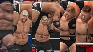 WWE 2K17 - Brock Lesnar F-5 Evolution! ( Shut Your Mouth To WWE 2K17 )