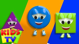 Shapes Song |  Shapes By Kids Tv