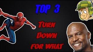 getlinkyoutube.com-Os 3 Melhores Turn Dow For What (TOP 3)