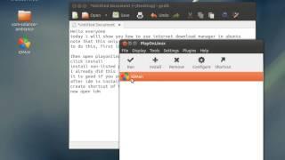 getlinkyoutube.com-How to Install Internet Download Manager (IDM) on Ubuntu (Working)
