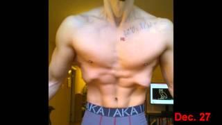 getlinkyoutube.com-Stomach Vacuum Progress: 1 Year
