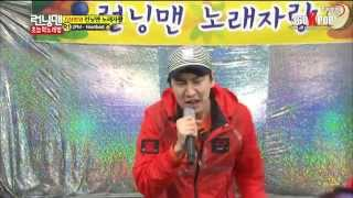 getlinkyoutube.com-Heartbeat (2PM) - Song Ji Hyo ft Lee Kwang Soo (Running Man Ep 143) Full ver.