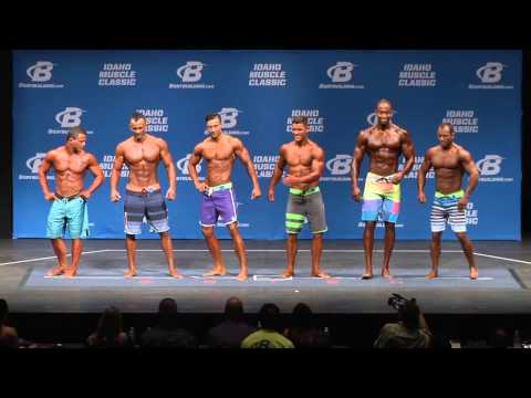 2014 Idaho Muscle Men Physique Overall