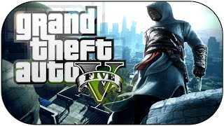 getlinkyoutube.com-ASSASSIN'S CREED IN GTA5 - THE LEAP OF FAITH