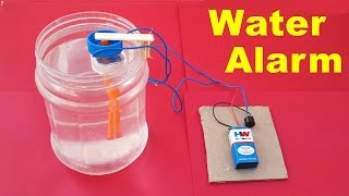 getlinkyoutube.com-How to Make a Simple Water Level Indicator Alarm at Home