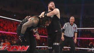 getlinkyoutube.com-No. 1 Contender's Fatal 4-Way Match: Raw, October 26, 2015