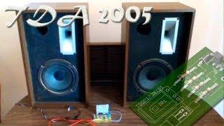 getlinkyoutube.com-Amplificador casero TDA2005, monta el tuyo!