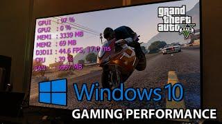 getlinkyoutube.com-GTA 5 PC : Windows 10 Gaming Performance vs Windows 7 Benchmark   i7 4790k GTX 980