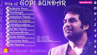 getlinkyoutube.com-Top Hits of Gopi Sundar | Malayalam Film Songs