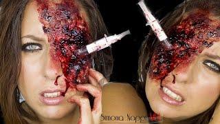 getlinkyoutube.com-Syringe in the Eye • Halloween Series