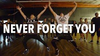 """getlinkyoutube.com-""""NEVER FORGET YOU"""" Pt.2 - Zara Larsson Dance   Matt Steffanina & D-Trix"""