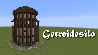 getlinkyoutube.com-Minecraft Tutorial - Getreidesilo