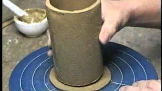 getlinkyoutube.com-たたら板によるマグカップの作り方    青木せいざん