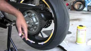 getlinkyoutube.com-Rim Strips Installation - Rear Wheel