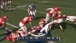 getlinkyoutube.com-Madden NFL 17 - Great Fumble But Horrible Recovery