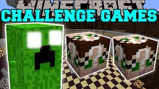 getlinkyoutube.com-Minecraft:  FAT CREEPER CHALLENGE GAMES - Lucky Block Mod - Modded Mini-Game