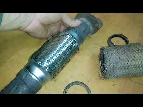 Замена датчика кислорода и гофры глушителя Great wall safe.