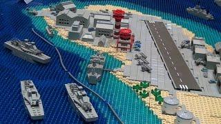 getlinkyoutube.com-LEGO WWII Battle of Pearl Harbor – Brickworld Fort Wayne 2015