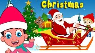 getlinkyoutube.com-Best Christmas Songs for Children with lyrics | Santa Claus | Jingle Bells plus lot more