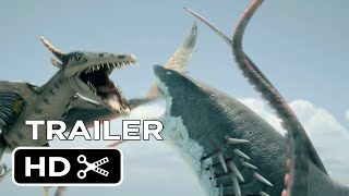 getlinkyoutube.com-Sharktopus Vs Pteracuda | Official Trailer [HD]