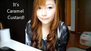 getlinkyoutube.com-NEW! Beauty Labo Whip Hair Colour Review and Tutorial - Caramel Custard