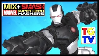 getlinkyoutube.com-Marvel Super Hero Mashers War Machine (Battles Edited) | Mix+Smash