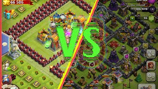 getlinkyoutube.com-Castle Clash VS Clash of Clans
