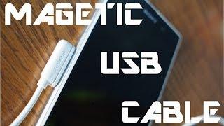 getlinkyoutube.com-Magnetic USB Cable Xperia Z1 Sony