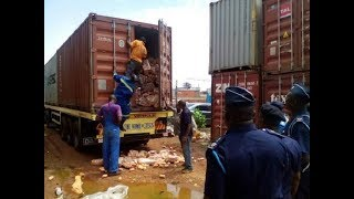Customs seizes undeclared containers at Tema