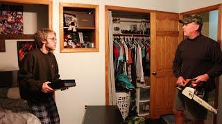 getlinkyoutube.com-Psycho Dad Chainsaws Xbox One