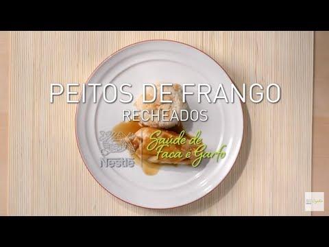 RECEITA DE PEITOS FRANGO RECHEADOS