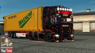 getlinkyoutube.com-[ETS2 v1.23 & v1.24] Scania R Andreas Schubert + Cabin DLC