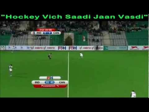 Highlights Of FIH Womens Olympic Qualifier 19 Feb 2012 - India 4 - 1 Canada
