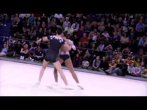 Aerobic Gymnastics World champions 2016