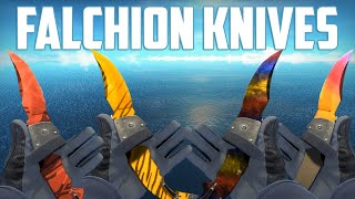 CS:GO - Falchion Knives - All Skins Showcase | Все Скины Falchion Knives