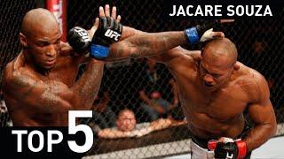 getlinkyoutube.com-Ronaldo Jacare Souza UFC MMA Jiu Jitsu UFC fight Highlight 2015