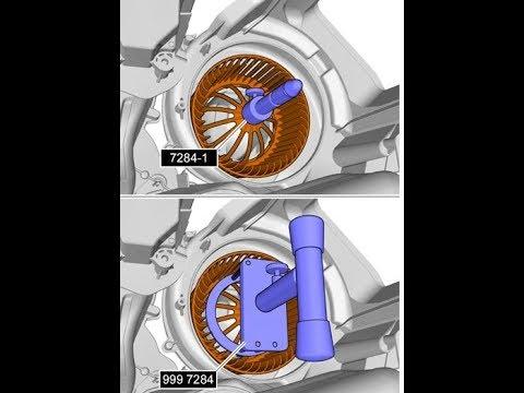 Замена вентилятора печки на Volvo