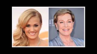 "getlinkyoutube.com-Did Carrie Underwood hit the same notes as Julie Andrews in ""The Sound Of Music""?"