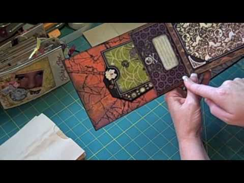 Paper Bag Mini Album Tutorial