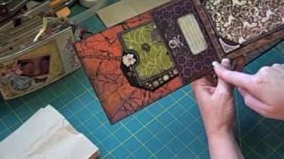 getlinkyoutube.com-Paper Bag Mini Album Tutorial