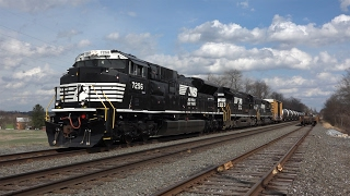 Trains on the Norfolk Southern Harrisburg Line Spring 2016