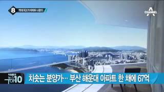 치솟는 분양가…부산 해운대 아파트 한 채에 67억_채널A_뉴스TOP10