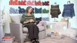 getlinkyoutube.com-Realizzare uno scialle a maglia/1 Presenta Emma Fassio