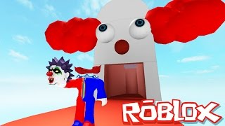 getlinkyoutube.com-Roblox Adventures / Escape Clown Prison Obby / Escaping the Evil Clowns!!